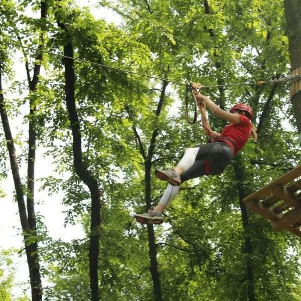 Adventure Park Garda Parco Percorso Rosso