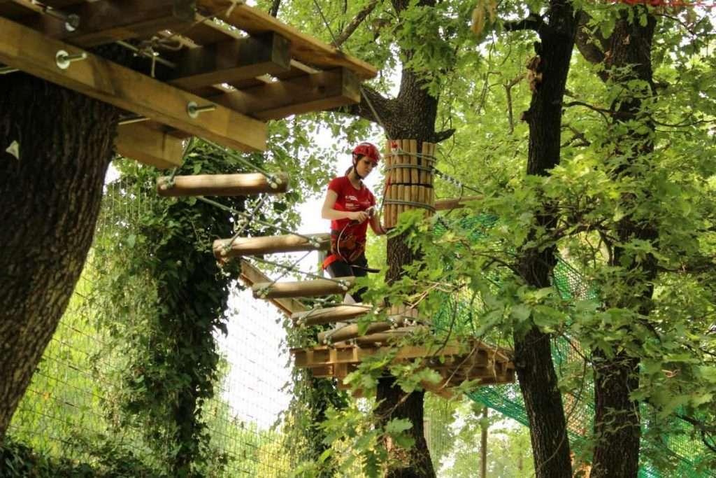 Adventure Park Garda Parco Percorso Verde
