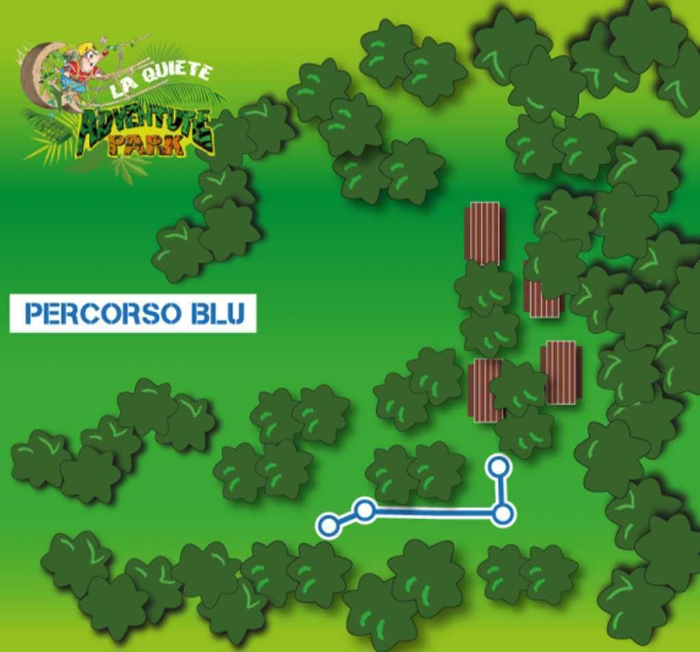 La Quiete Adventure Park Percorso Blu