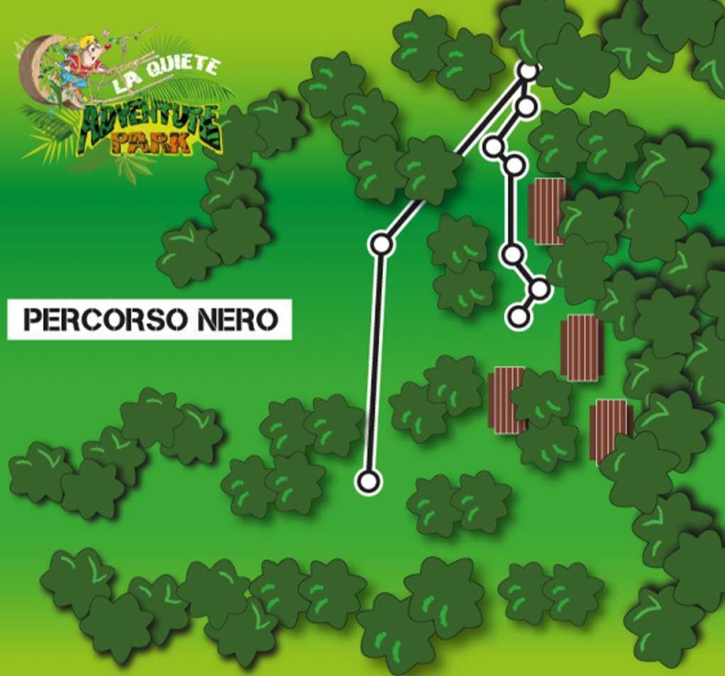 La Quiete Adventure Park Percorso Nero